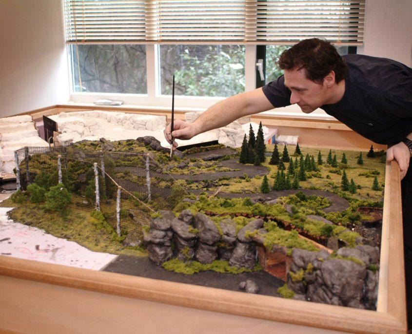 Uitwerken van een Avonturenpark design