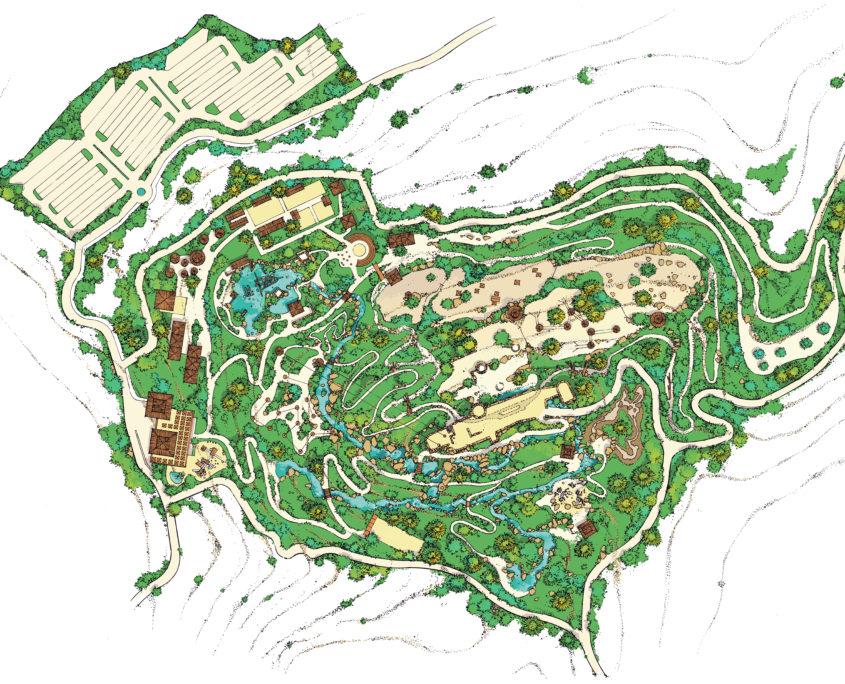 Adventure park plan